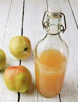 Ocet jabłkowy niefiltrowany,naturalny z jabłek z własnego sadu, 0,5l