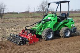 Usługi profesjonalną glebogryzarką separacyjną, trawniki, niwelacja