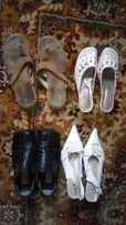 Обувь женская 36 размера. Цена за 4 пары.