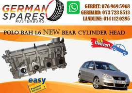 VW POLO BAH 1.6 BEAR CYLINDER HEAD FOR SALE