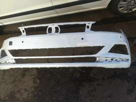 Polo 8 Front bumper very clean