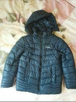 Куртка тёплая на мальчика 9-11 лет