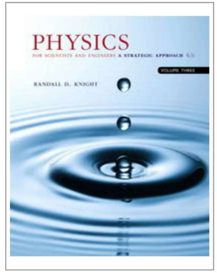 Textbook : Physics for Scientists and Engineers