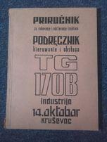 Spycharka spychacz traktor ciągnik TG-170B TG 170B katalog części