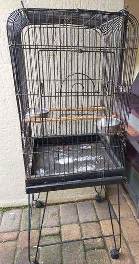 African Grey Bird Cage With Stand