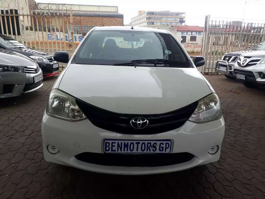 For Sale:2012 Toyota Etios,Engine1.5,Manual,108000km 0