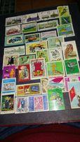 Kolekcja znaczkow pocztowych