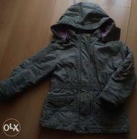wiosenno-jesienna kurtka dziewczęca r. 104 cm
