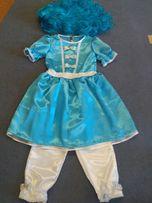 Новогодний костюм- платье Мальвины и восточной красавицы.