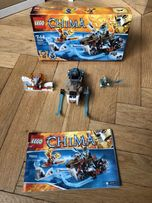 Lego Chima 70220. Kompletny. Motocykl Strainora.