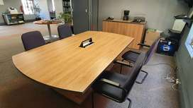 Boardroom table for sale R5000 neg
