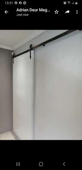 Barn door and systems