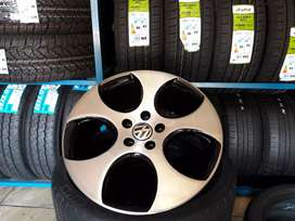Vw mag wheels and tyres