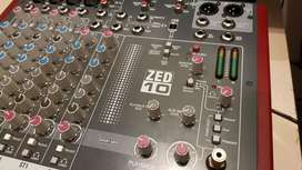 Allen and Heath ZED10 mixer