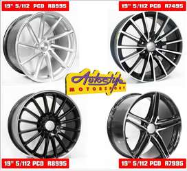 Mags alloy rims wheels suitable for VW - Audi- BMW - Merc  19 inch QS