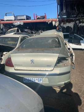 Peugeot 407 v6 auto stripping for parts
