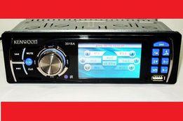 Автомагнитола Pioneer_KENWOOD 3016_поддержка видео! Встроенный экран 3
