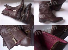 Timberland damskie buty botki slim skórzane zimowe 6,5M 37 38 24 skóra