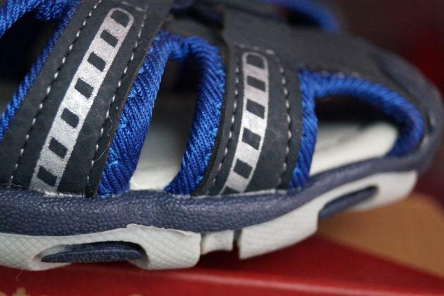 Босоножки, сандалии для мальчика, темно-синие, новые, 28,31 Киев - изображение 3