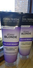 John Frieda шампунь и кондиционер для поддержания осветленных волос