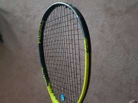 Hocky stick and tennis racket