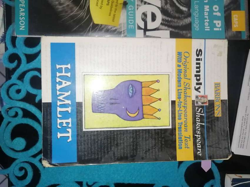 Textbooks and study guides for grades 10/11/12 0