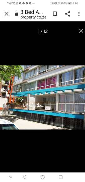 Durban central one and half bed flat to rent