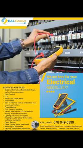 Electrical services. Electrician