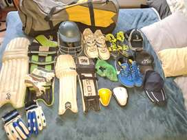 Cricket bag with EVERYTHING