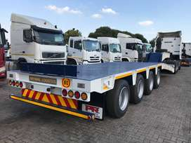 NEW PR Trailer quad axle low bed trailers