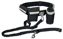 Комплект для бега с собакой (пояс сумка поводок) Trixie
