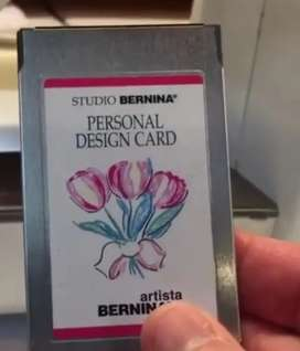 Looking for bernina artista 165 embroidery card