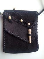 Женская сумочка-клатч из оленьей кожи