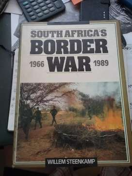 SOUTH AFRICAN BORDER WAR BY WILLEM STEENKAMP 1966 to TO 1989