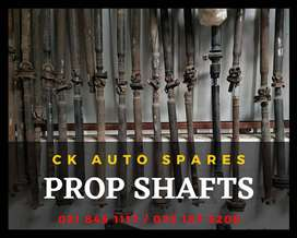 Prop shafts for sale for most vehicles make and models.