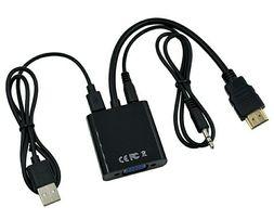 Адаптер HDMI - VGA, audio с питанием