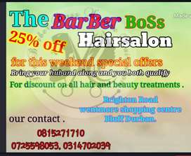 Salon weekend special