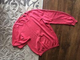 Męski malinowy sweterek leGer XL