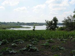 Продам участок с домом на озере