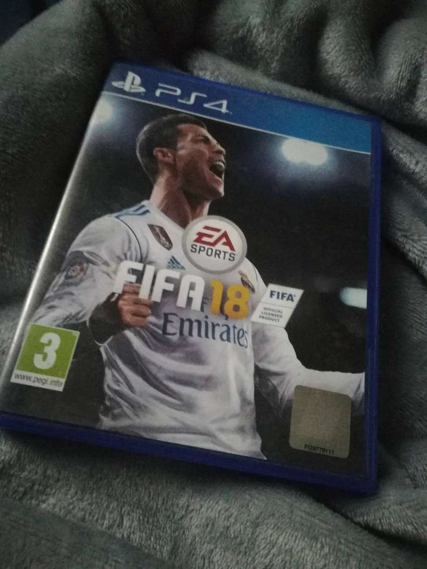 Fifa 18 in excellent condition