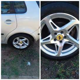 15 inch rims with tyres