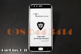 Защитное Full Glue стекло OnePlus 3 / 3t / 5 / 5t / 6t ПОЛНАЯ ПОКЛЕЙКА