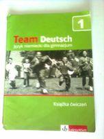 Team Deutsch j. niemiecki książka ćwiczeń- U. Esterl