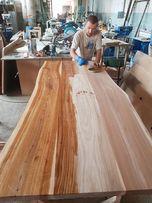 Столешницы, ступени, мебельный щит дерево дуб, ясень, ольха и др.
