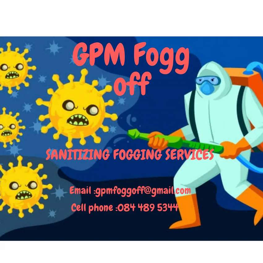 GPM Fogg off (sanitized fogging services) 0