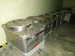 Нержавеющие, Пищевые тележки- контейнеры 200-300л