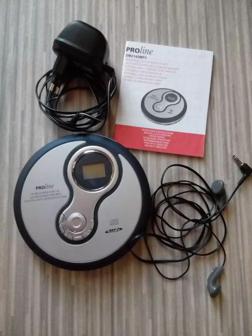 Osobní CD MP3 přehrávač 0