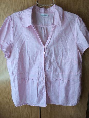 Różowa bluzka r 48 Toruń - image 2