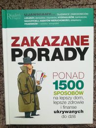 Nowa książka Zakazane porady