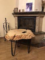 Ексклюзив Стіл , стол журнальний / кавовий Loft Rustic епоксидна смола